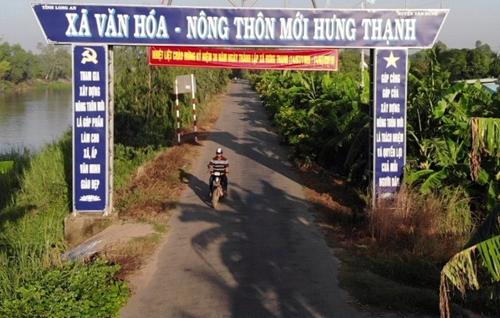 Công nhận 16 xã an toàn khu tại tỉnh Tiền Giang