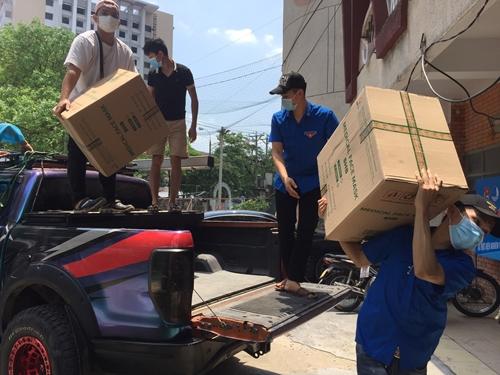 Chung sức hỗ trợ Bắc Giang chống dịch