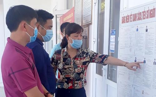 Thị xã Nghĩa Lộ kiểm tra công tác chuẩn bị tại 86 điểm bầu cử