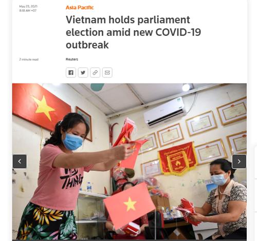Truyền thông nước ngoài đánh giá cao công tác chuẩn bị của Việt Nam cho bầu cử