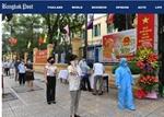 Truyền thông thế giới đưa tin đậm nét về cuộc bầu cử của Việt Nam