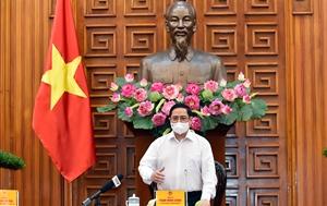 Thủ tướng Phạm Minh Chính Nghiên cứu xây dựng Quỹ vaccine ngừa COVID-19