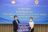 Ủy ban TƯ MTTQ Việt Nam hỗ trợ 4 tỷ đồng ủng hộ bà con kiều bào