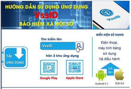 Nâng cấp ứng dụng VssID - Bảo hiểm xã hội số