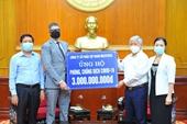Phát động đợt cao điểm toàn quốc quyên góp ủng hộ phòng chống dịch COVID-19