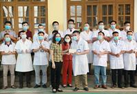 Yên Bái tăng cường thầy thuốc đến hỗ trợ Bắc Giang chống dịch COVID-19