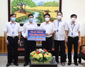EVN Thăm hỏi, động viên Công ty Điện lực Bắc Giang trong thời điểm dịch COVID-19
