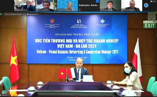 Giao thương trực tuyến ngành nông sản và chế biến thực phẩm Việt Nam – Ba Lan