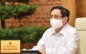 Thủ tướng Chính phủ chủ trì họp trực tuyến toàn quốc về phòng, chống dịch COVID-19