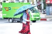 Nắng nóng gay gắt tiếp tục duy trì tại Bắc Bộ và từ Thanh Hoá đến Phú Yên