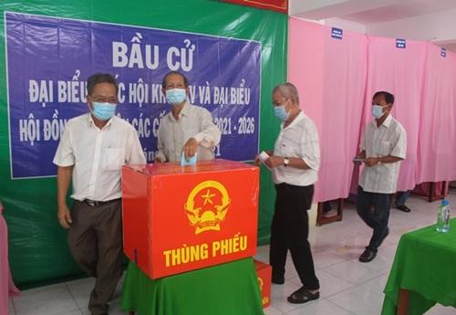 Đồng Tháp 58 người trúng cử đại biểu Hội đồng nhân dân tỉnh khóa X