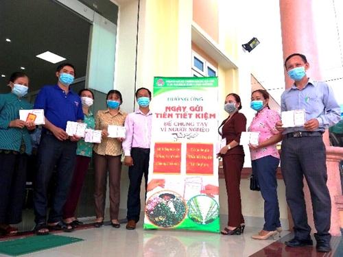NHCSXH tỉnh Lâm Đồng Huy động vốn nhanh - phòng, chống dịch tốt