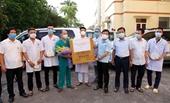 Vĩnh Phúc 6 cán bộ y tế lên đường hỗ trợ tỉnh Bắc Giang chống dịch COVID-19