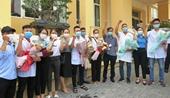 Hải Phòng chi viện cán bộ y tế cho Bắc Giang chống dịch