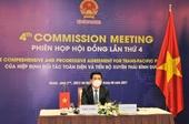 Việt Nam đóng góp nhiều ý kiến hữu ích tại phiên họp Hội đồng lần tứ tư CPTPP