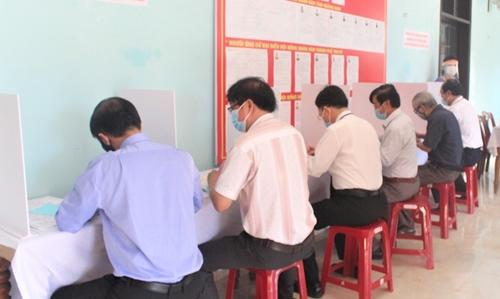 Kon Tum Tỷ lệ cử tri đi bầu cử ĐBQH khóa XV và đại biểu HĐND các cấp đạt 99,85