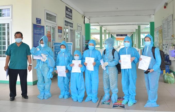 Đà Nẵng: 8 bệnh nhân COVID-19 được xuất viện