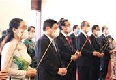 Lãnh đạo TP Hồ Chí Minh dâng hương tưởng niệm Chủ tịch Hồ Chí Minh