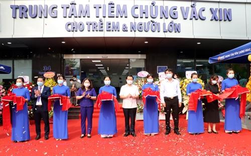 Yên Bái Khai trương Trung tâm tiêm chủng VNVC