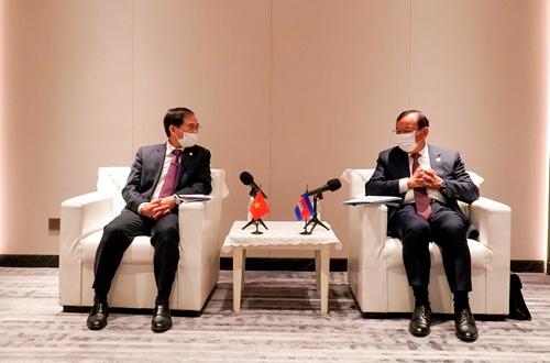 Tăng cường quan hệ láng giềng tốt đẹp, hợp tác toàn diện Việt Nam - Campuchia