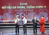 VietinBank ủng hộ 60 tỷ đồng vào Quỹ vắc-xin phòng, chống COVID-19