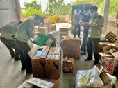 Huế Thu giữ trên 1 200 sản phẩm mỹ phẩm có dấu hiệu nhập lậu