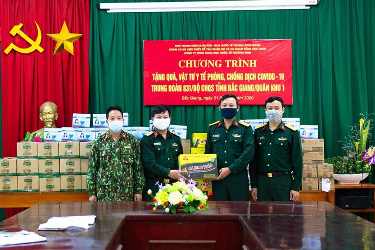 Thanh niên Quân đội xung kích, tích cực trong phòng, chống dịch