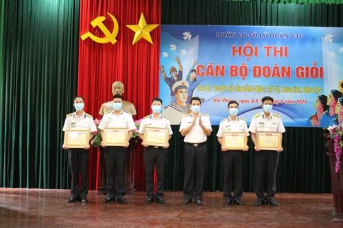 Hội thi cán bộ đoàn giỏi ở Lữ đoàn Công binh 131