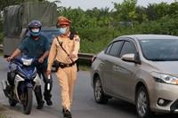 Hà Nội Xử phạt nghiêm các trường hợp vi phạm trên cao tốc Đại lộ Thăng Long