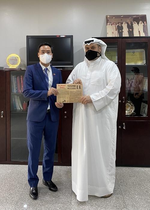Tăng cường hợp tác trao đổi thông tin giữa Việt Nam và Kuwait