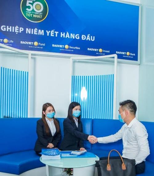 """Tập đoàn Bảo Việt BVH  """"Top 50 công ty niêm yết tốt nhất Việt Nam"""" năm 2021"""