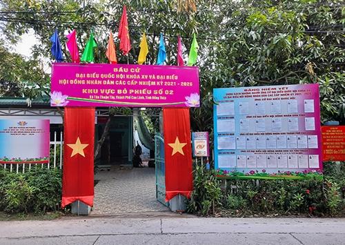 Bình Phước, Đồng Tháp Công bố danh sách người trúng cử đại biểu Quốc hội khóa XV