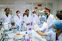 Học viện Quân y cần đẩy nhanh tiến độ sản xuất vắc xin Nanocovax