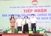 Hà Nội Tiếp nhận gần 20,7 tỷ đồng ủng hộ mua vắc xin và phòng, chống dịch COVID-19
