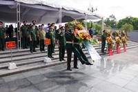 Quảng Trị Truy điệu, an táng 40 hài cốt liệt sĩ