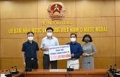 Người Việt tại CH Séc ủng hộ Quỹ Vaccine phòng, chống COVID-19