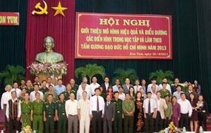 Học và làm theo Bác ở Kon Tum