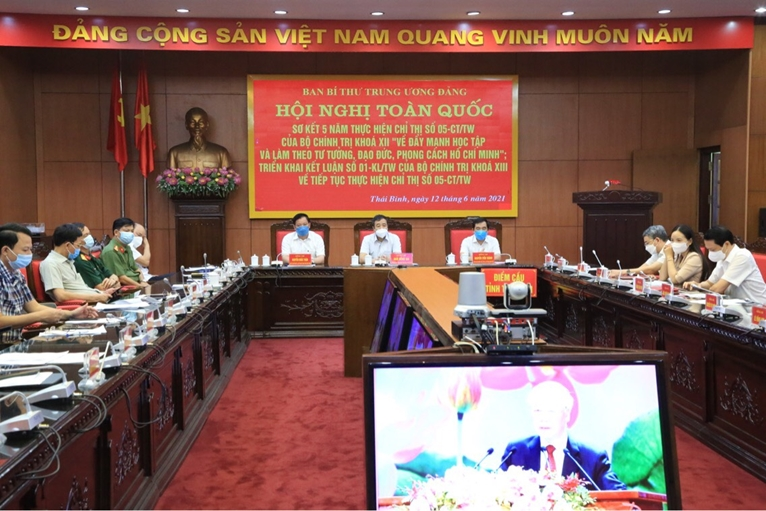 Thái Bình Trên 26 000 đại biểu tham dự các hội nghị trực tuyến của Ban Bí thư Trung ương Đảng