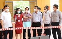 Ngày thứ nhất kỳ thi vào lớp 10 Thuận lợi, an toàn, tạo tâm lý tốt cho thí sinh