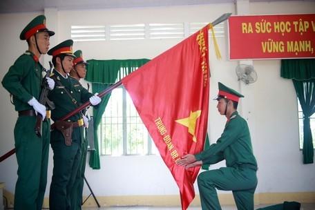 Tổ chức tuyên thệ chiến sĩ mới năm 2021