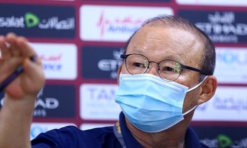 HLV Park Hang-seo Không muốn học trò vào trận với tâm lý thủ hoà
