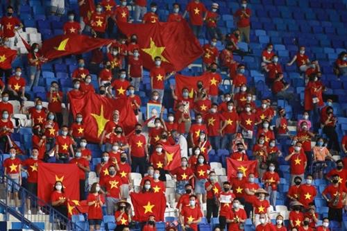 Vé xem trận đấu giữa ĐT Việt Nam – ĐT UAE đã được bán cho cổ động viên Việt Nam