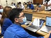 Sinh viên Kinh tế Quốc dân tham gia đội hình tình nguyện số hỗ trợ truy vết bệnh nhân COVID-19