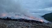 Đà Nẵng Kịp thời khống chế đám cháy tại bãi rác Khánh Sơn