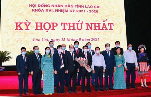Lào Cai Bầu các chức danh thuộc thẩm quyền HĐND tỉnh khóa XVI