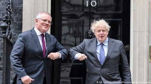 Australia và Anh đạt thỏa thuận thương mại song phương