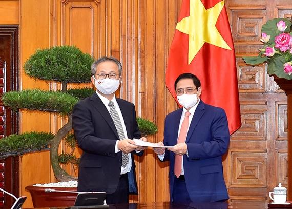 Chính phủ Nhật bản quyết định cung cấp 1 triệu liều vaccine cho Việt Nam