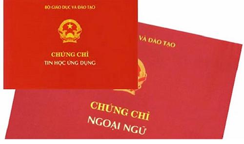 Bãi bỏ chứng chỉ ngoại ngữ, tin học đối với công chức hành chính, văn thư thực hiện từ thời điểm nào