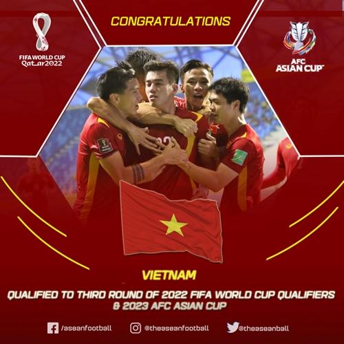 Tuyển Việt Nam - Bước tiến lịch sử