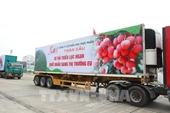 Ưu tiên lưu thông xe chở vải thiều từ Bắc Giang